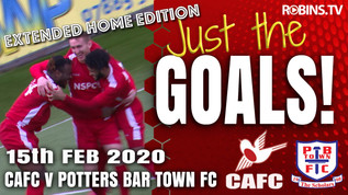 Just the Goals - Potters Bar Town