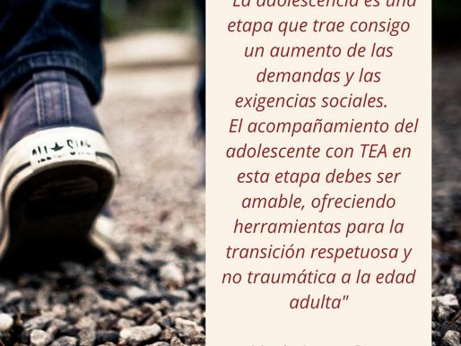 Autismo: transición de la niñez a la adolescencia