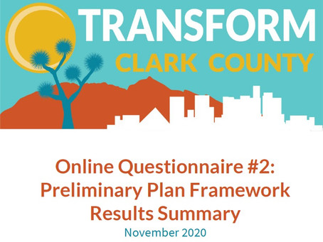 Preliminary Plan Framework Survey results now available!