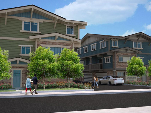 12 Unit Entitled Town Home Development Hits the Market For Sale - Downey