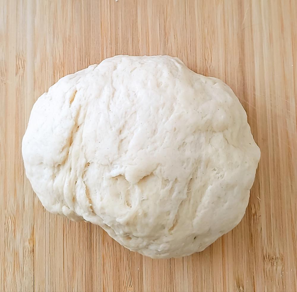 dough ball pretzel