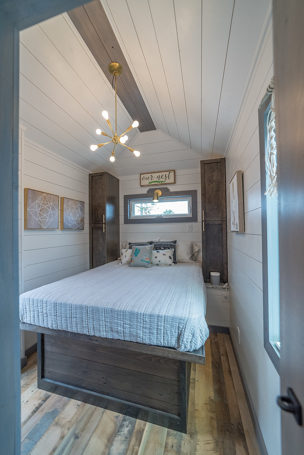 Tiny Home bedroom