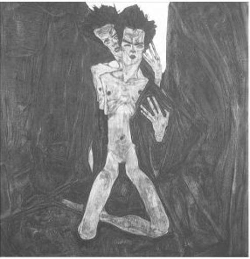 Egon Schiele, Self-Seer 1910