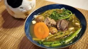生熟西洋菜陳腎煲豬展