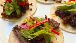 Mexico City Street Steak Tacos - Korean Style