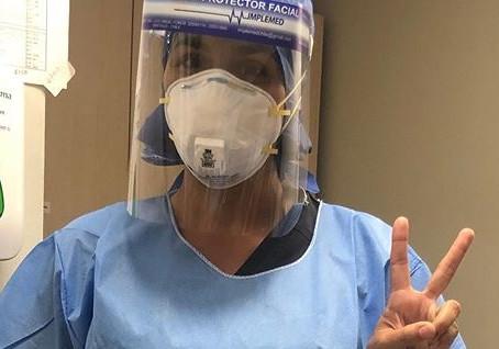Daniela y su acompañamiento dedicado a los pacientes