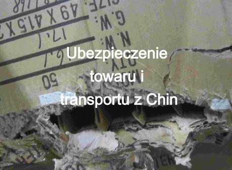Ubezpieczenie towaru i transportu z Chin. Ile wynosi? Dlaczego warto?