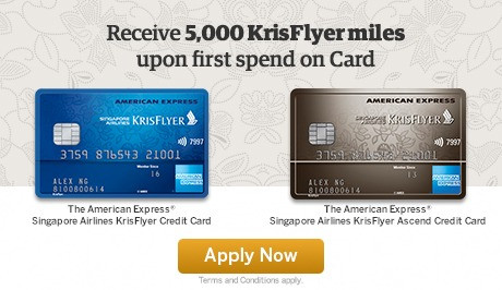 Earn up to 5,000 miles when you sign up for AMEX credit card