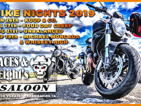 ACES & EIGHTS SALOON BIKE NIGHTS