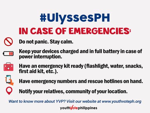 Save these hotline numbers in case of emergency! #UlyssesPH