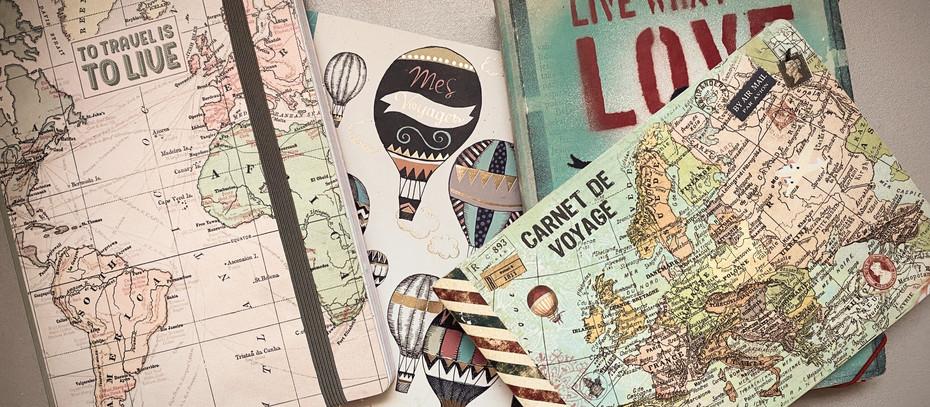 Idées et astuces pour créer un carnet de voyages