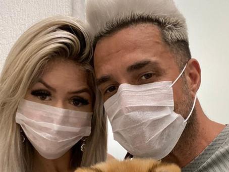 "Latino e noiva testaram positivo para o coronavírus: ""vamos passar por essa"""