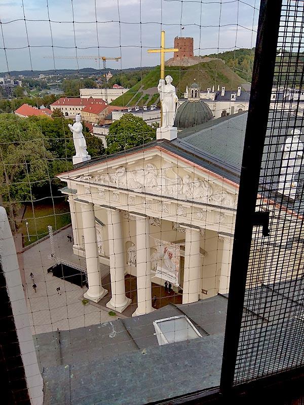 Вид на Старо место в Вильнюсе