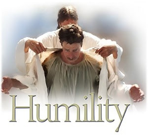 clothed in humility