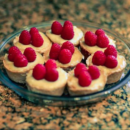 Raspberry Lemon Tartlets