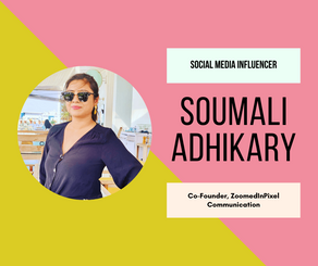 Interview With A Women Entrepreneur - Soumali Adhikary (Social Media Influencer & Youtube Creator)