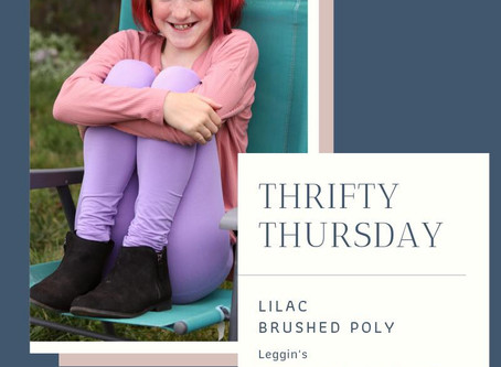 Thrifty Thursday- Love Notions Leggins' in Lilac DBP