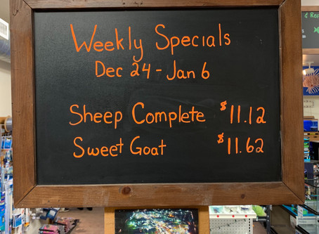 weekly special for Dec 24-jan 6