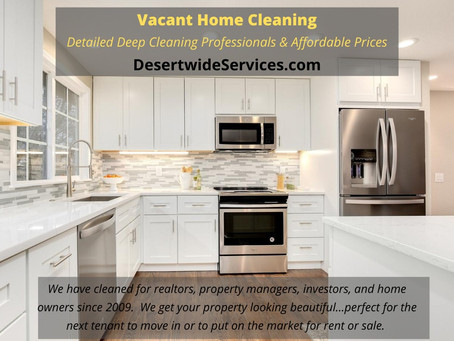 Professional Vacant House Cleaning by Desertwide Services