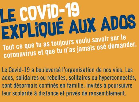 Covid-19 : la brochure pour répondre à tes questions