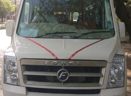 Delhi-Shimla-Delhi 3 days vehicle (12 Seater Tempo ) package RS 22,500.00 GST extra.
