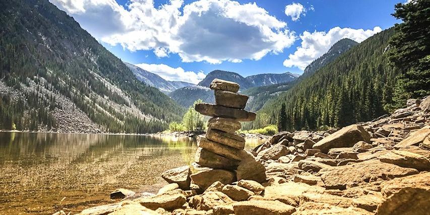 Finding zen in the Montana mountains, Custer Gallatin, MO