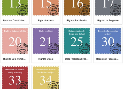 Do you know what these colored stamps are about?