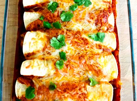 Jackfruit Enchiladas