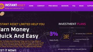 Instant Asset - скам, не вкладывать, отработал 9 дней