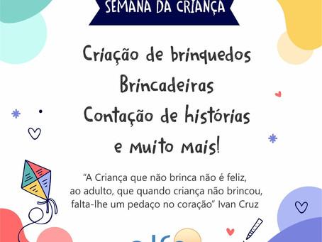 Semana da criança na Escola ALFA  Escola+Família=Alegria