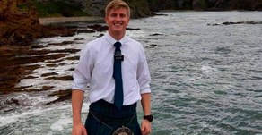 Local missionary travels to Scotland