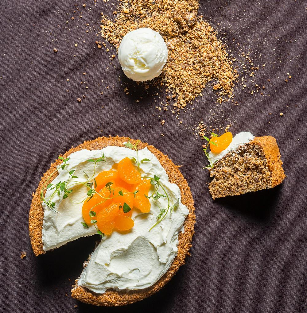 Duonos tortas, duoninis tortas, tortas su mandarinais, nostalgiški skanėstai, Alfo Ivanausko receptai