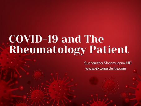 COVID 19 and the Rheumatology Patient