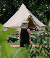 Retreat meditation in the UK