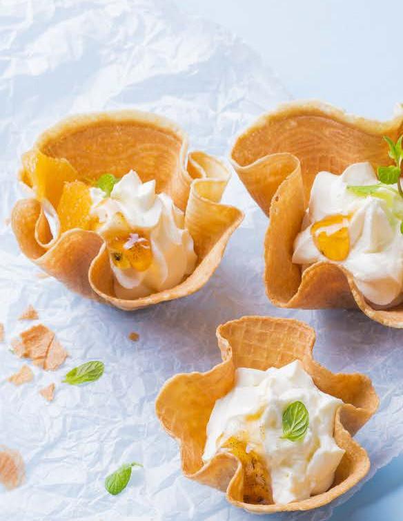 vafliai su varške ir apelsinais, apelsininiai vafliai, Alfo receptai