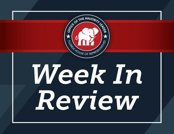 Week in Review | October 21-25, 2019