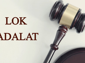 LOK ADALAT- AN ARENA FOR RENDERING SOCIAL JUSTICE