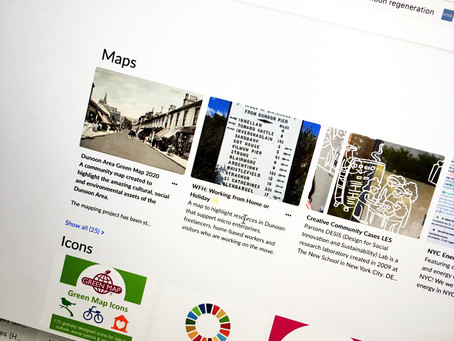 Become freelance friendly. Help co-create the Dunoon area's first Greenmap.