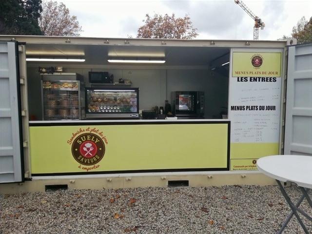 Réalisation d'un food truck par CONTAINERFLEX