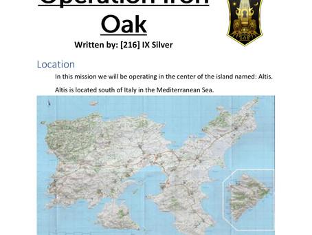 Operation Iron Oak - OCT 23rd