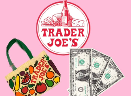 Shopping at Trader Joe's as a Broke Vegan