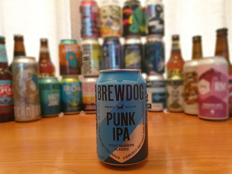 Blog #33. BrewDog Punk IPA - The Big Guns.