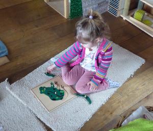 Atelier Montessori Eveil sensoriel (de 3 à 6 ans)