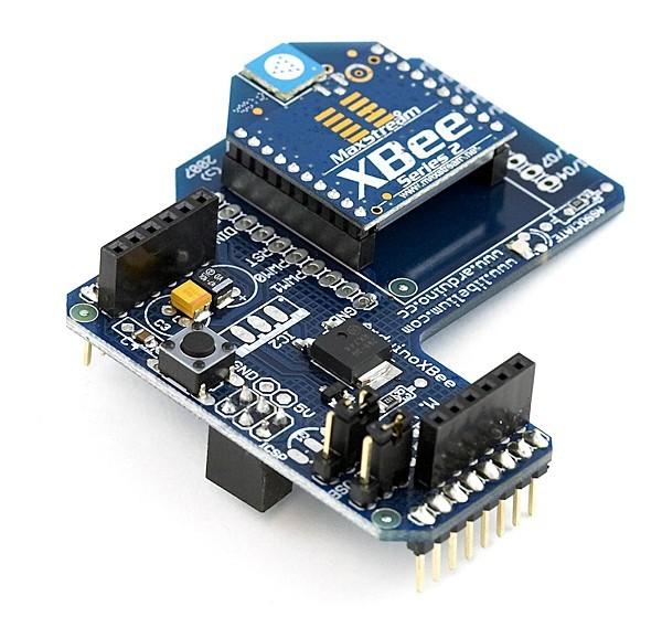 Добавьте немного энергии в ваш проект с  Arduino Xbee Shield