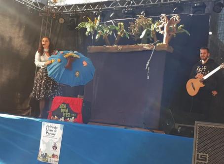 Márcia Funke Dieter na Feira do Livro de Parobé