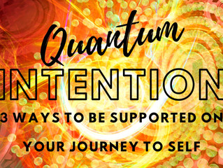 Quantum Intention is a powerful Shifter!