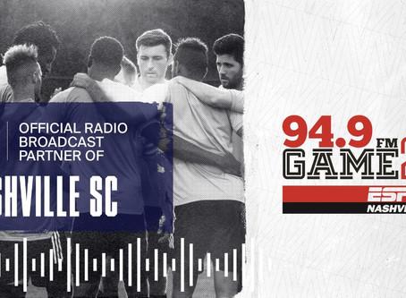 Nashville SC Announce 2020 Radio Partner
