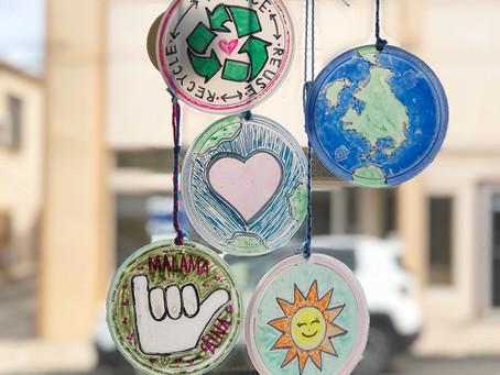 Plastic Lid Sun-catchers