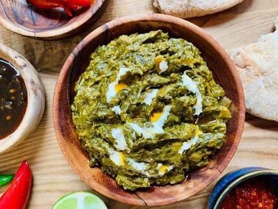 CREAMY SAG CURRY (Creamy spinach Curry - Vegan)