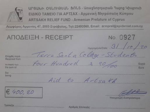 Επιτροπή Εθελοντισμού - Στήριξη των πληγέντων στην Αρμενία